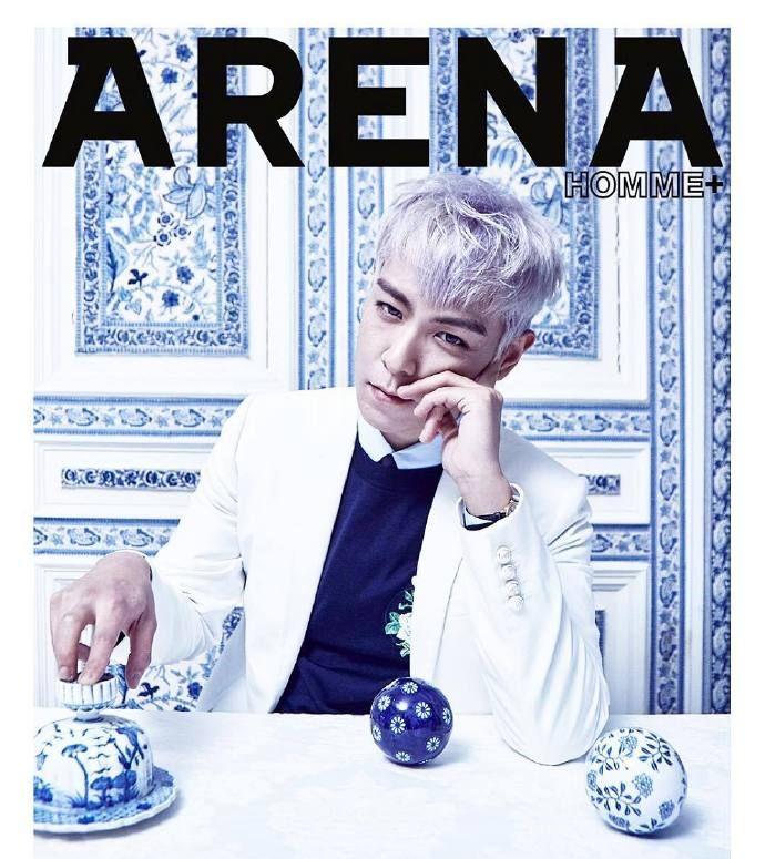 T.O.P. 崔胜铉  Arena Homme Korea 2016年3月封面