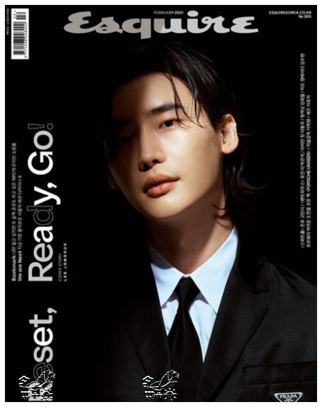 韩国演员李钟硕减重10KG拍时尚画报,展现成熟男性魅力
