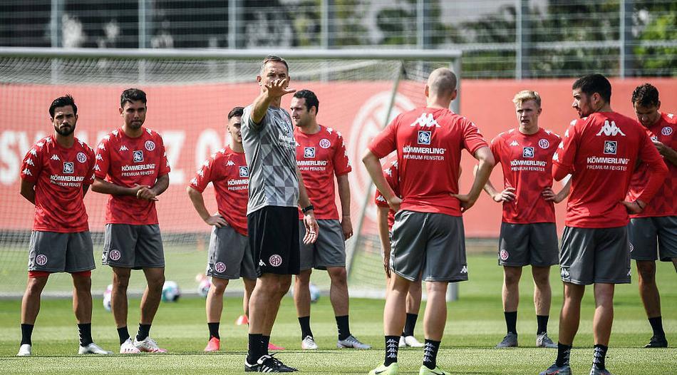 美因茨全队集中训练,开始备战2020-2021赛季德甲联赛