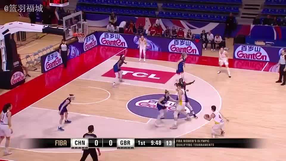 中国女篮86-76英国女篮集锦,基本功比男篮扎实,苦练出来没有捷