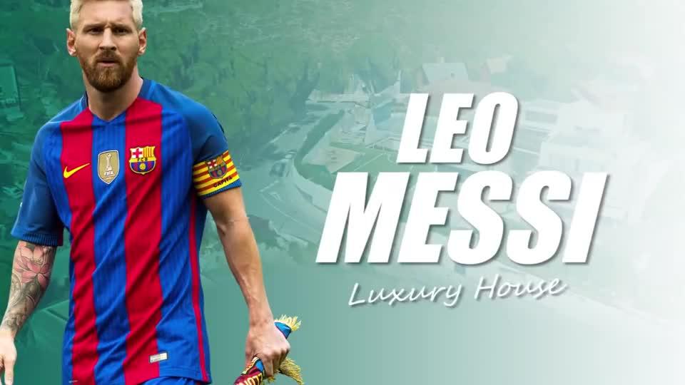 想知道梅西的家是什么样子吗,带你参观巴塞罗那梅西的超级豪宅