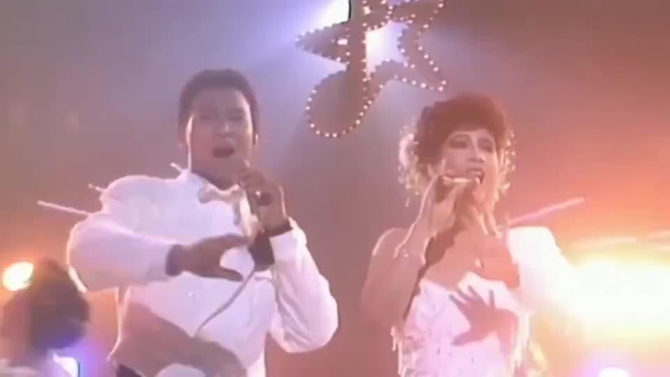甄妮刘德华共同演唱《世间始终你好》,老的歌真好听啊