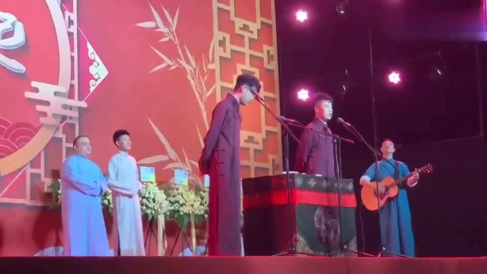 张云雷演唱《一场游戏一场梦》这小奶音。