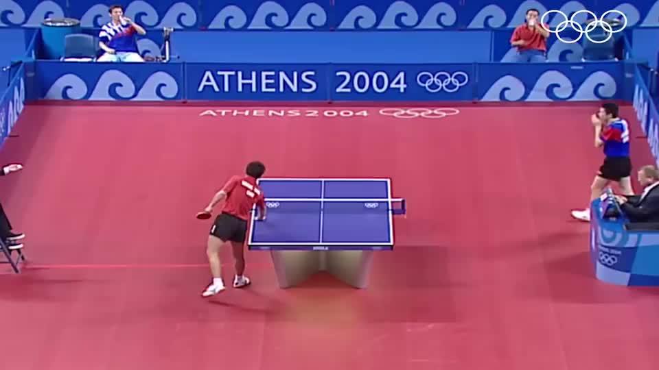 雅典奥运会男乒决赛G6,奇迹未能上演