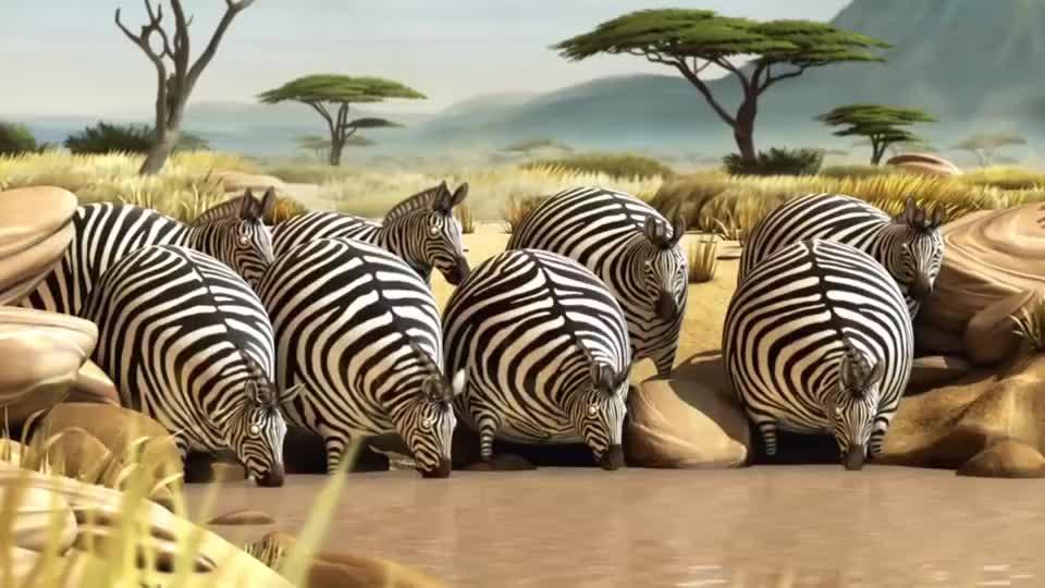 如果小动物们都变成胖子,全世界将会一片欢乐,捕猎都变得搞笑了