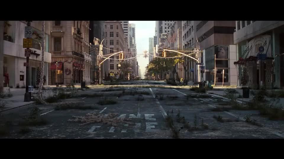 纽约市就史密斯一个人生活,想飙车就飙车