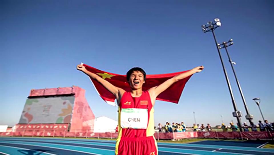 2米22夺冠!青奥会男子跳高中国选手陈龙破赛会纪录夺金