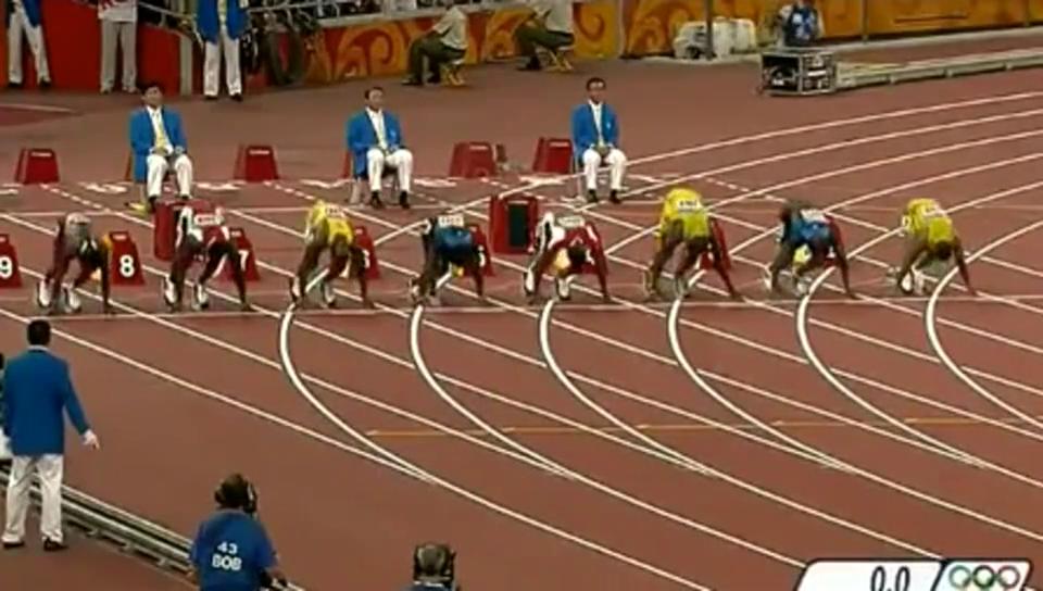 博尔特当年是怎样轰动鸟巢的唯一敢在百米决赛减速的神人!