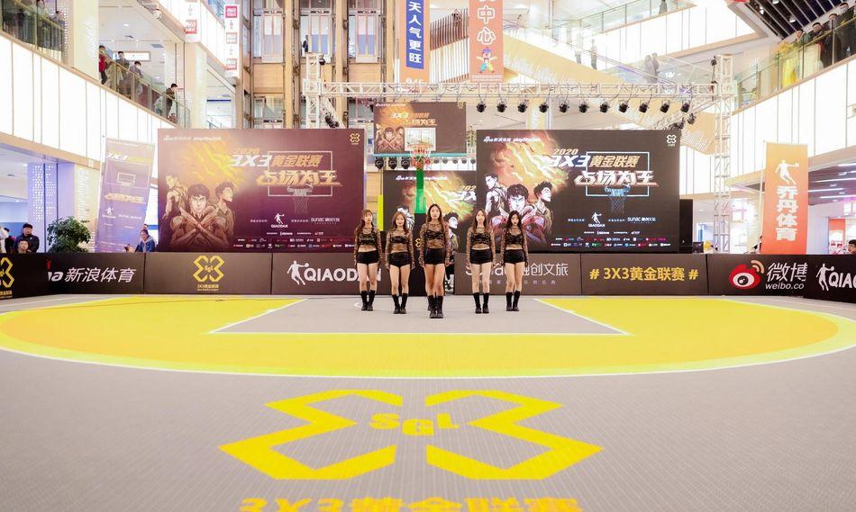 图集:篮球宝贝豹纹紧身衣热舞!3X3黄金联赛精彩纷呈!