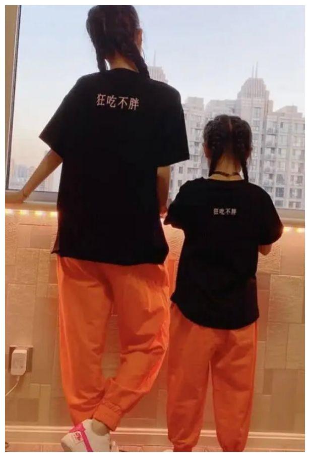 李小璐为扮嫩打扮成甜馨的样子,本以为会不合适,谁知38变18