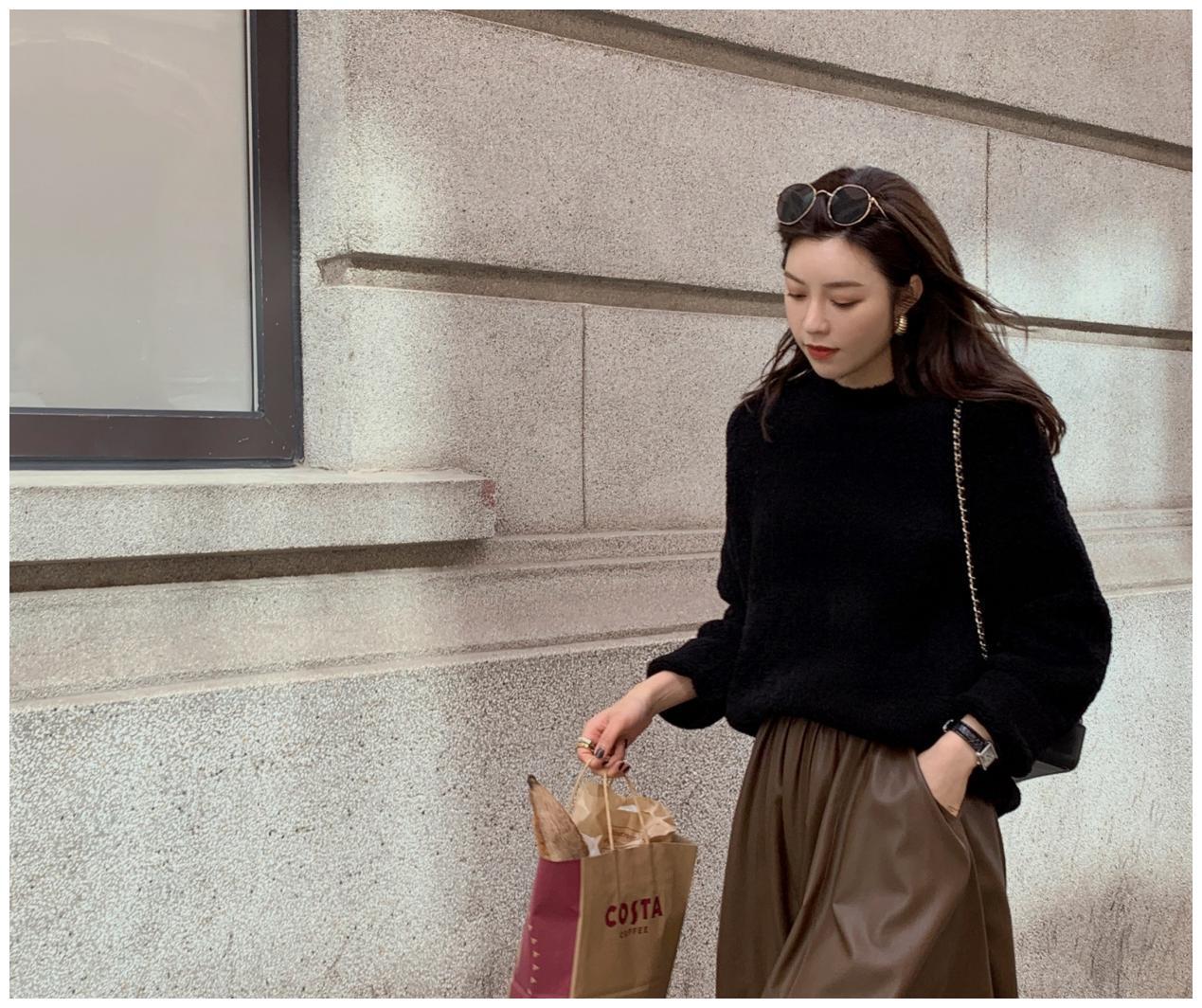 这才是冬季最靓的打扮!时尚女孩分享穿衣窍门,时髦显瘦又高级
