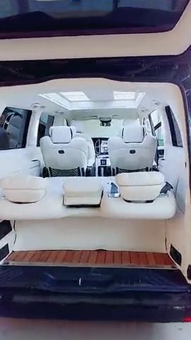 奔驰威霆豪华改装,高顶无隔断,打造高品质的舒适享受