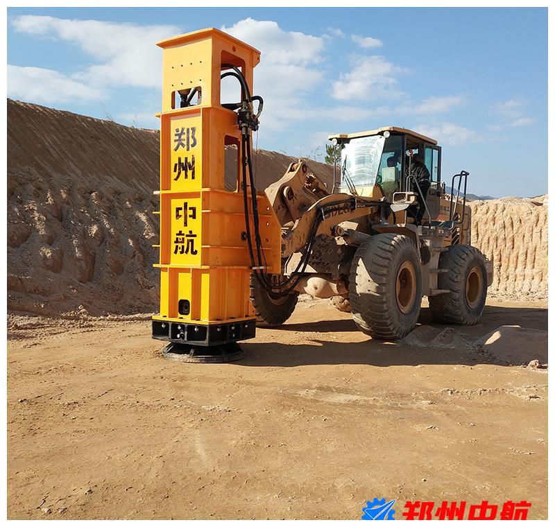 装载机夯实机的主要应用,液压式夯实机施工范围