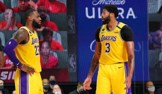 NBA季后赛西部决赛G1,湖人126-114大胜掘金,此役,湖人狂刷5大纪录