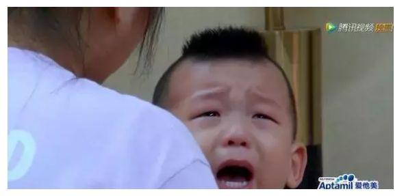何洁带三岁儿子参加真人秀,因父母离异多次大哭,只剩泪和无奈