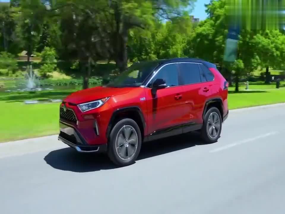 视频:全新丰田RAV4,空间大动力足配置高,长得也更好看了