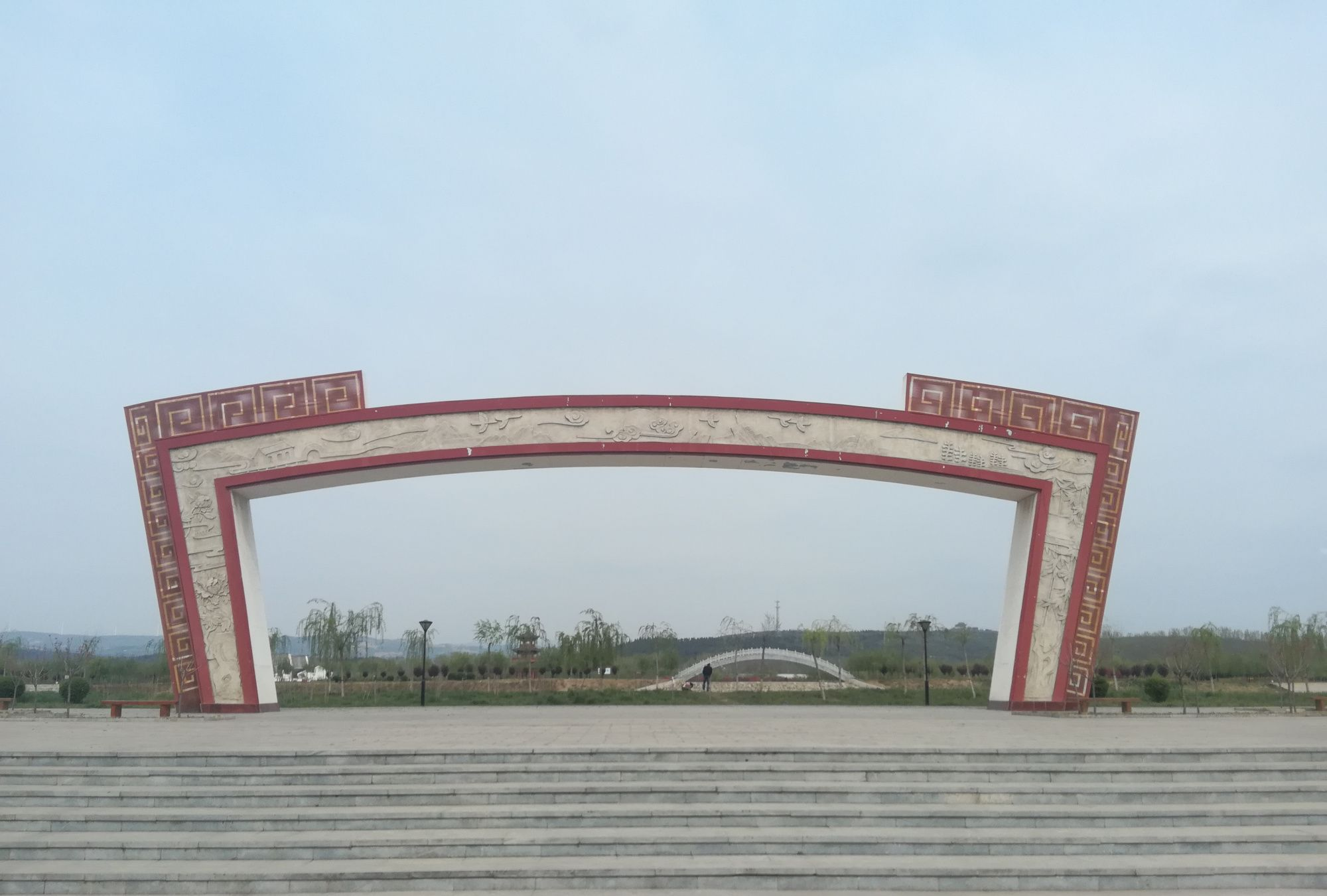 参观李商隐故居,博爱李商隐文化主题公园