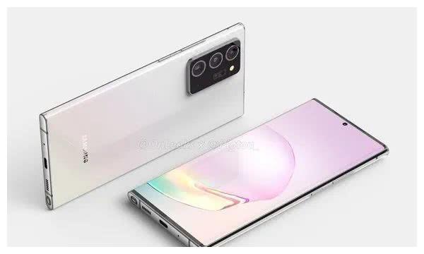 大屏震撼!三星Galaxy Note20+屏幕或突破7英寸