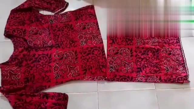 秋装裙不喜欢也别扔,腰间剪一刀,改造后秒变时尚新款