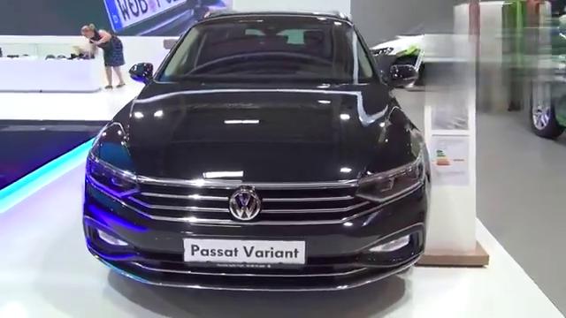 视频:2020款大众帕萨特Variant到货,坐进后