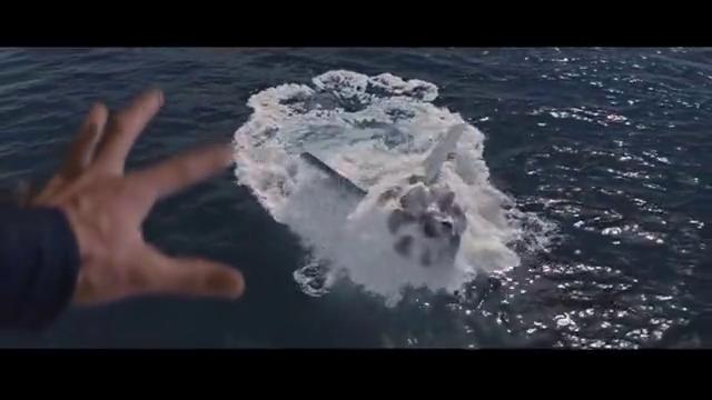 超强万磁王,空手吸出深海核潜艇,最后战斗机核潜艇都毁在海边!