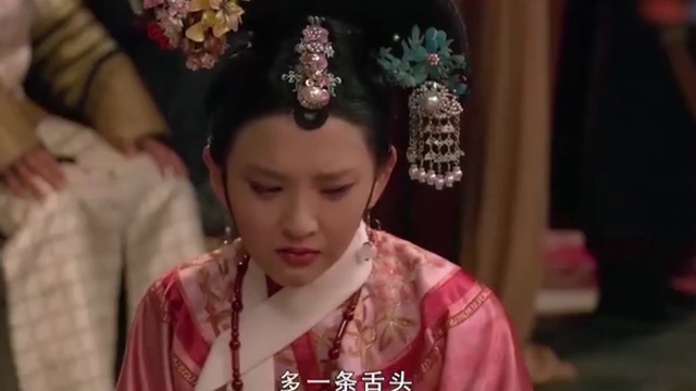 甄嬛传:甄嬛割静白的舌头送给祺贵人,向她示威搬弄是非的下场