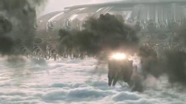 超强科幻片,核导弹攻击,F35战机追杀,被外星生物一一干爆