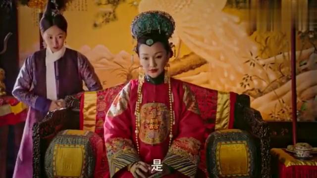 如懿传:皇后赏嘉贵妃红玉髓耳坠,让她记住教训,这段真是解气