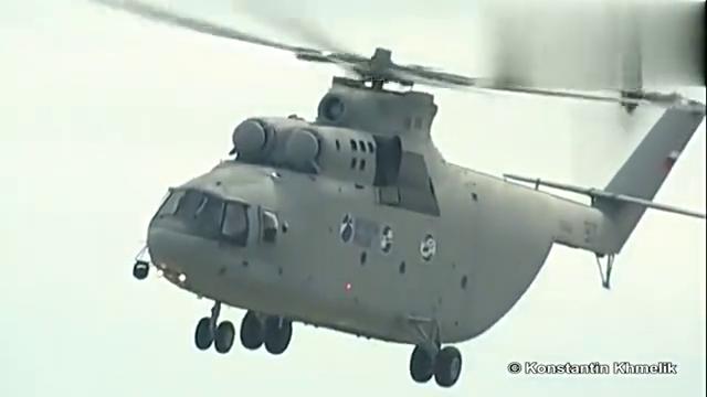 直升机中的巨人米-26,运载量竟超C-130
