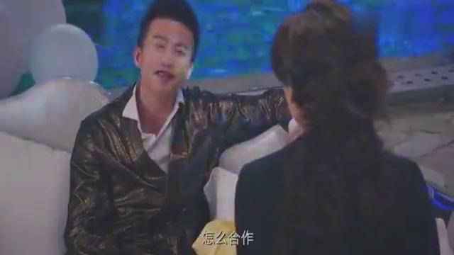 美人鱼:邓超和张雨绮谈生意,林允突然从水里冒出来,两人吓懵了
