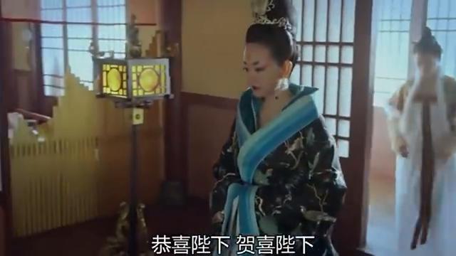东宫:皇后强颜欢笑,听到妃子有喜,表情寒冷