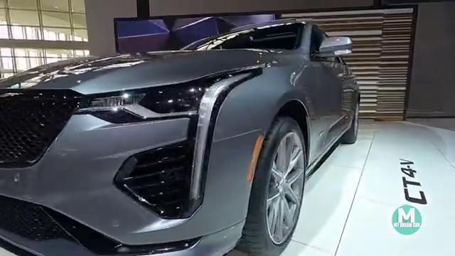 CadillacCT4-V,美系高动力版本车型