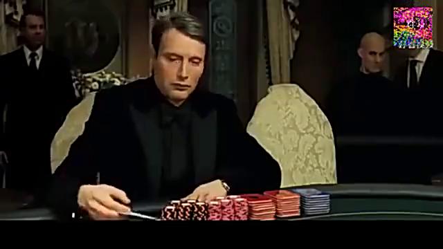 德州扑克,007电影打牌那么鱼,好莱坞大片的牌局设计真心渣
