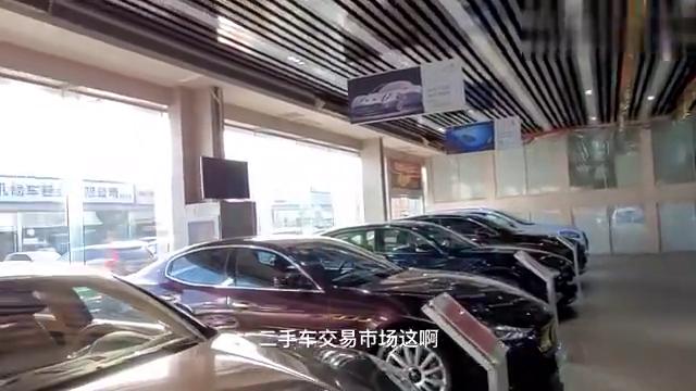 北京二手车交易市场,豪车众多,带大家看一看能不能买得起?