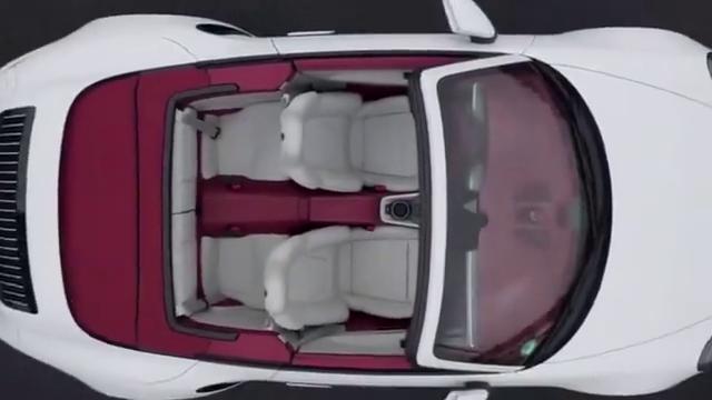 视频:保时捷911TurboCabriolet外观全方位静态展示