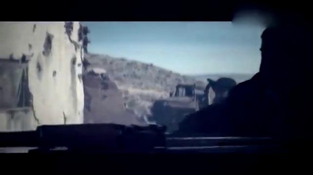 火爆现代战争片, 塔利班和美军对轰, 疯狂的战斗场面