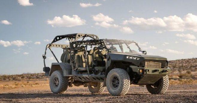 美国陆军订购649辆通用汽车公司生产的空降兵班用突击车