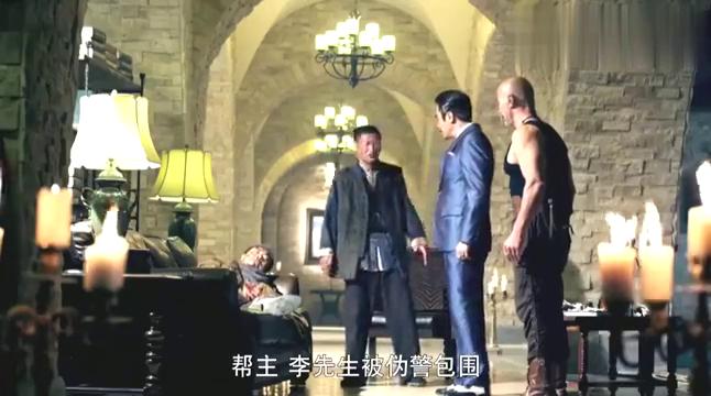 李八一受伤,为让宁宝林救他,谢彬拿刀刺向自己