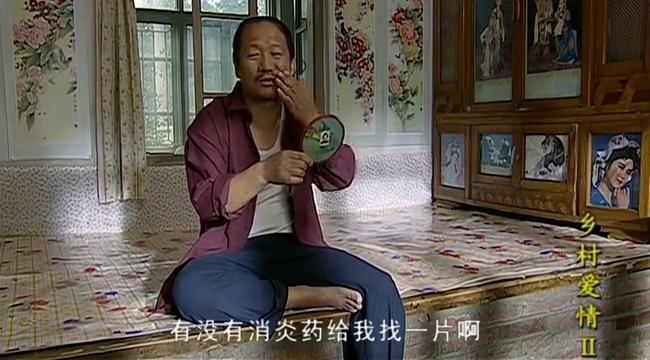 谢广坤为当村主任,急得腮帮子都肿了,让老伴拿两个花椒粒止疼