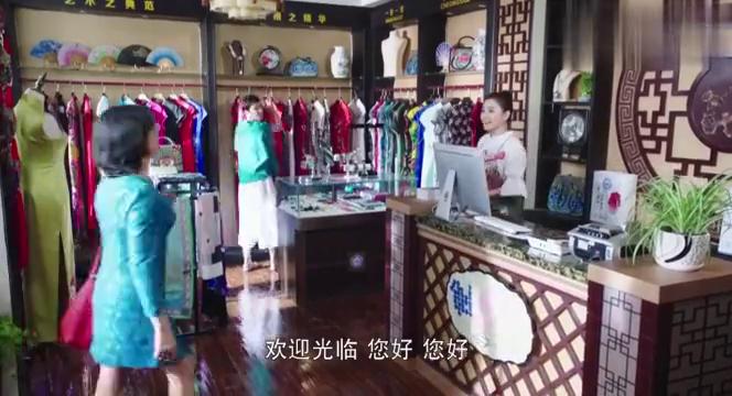 旗袍款式太老,金元要大胆改良,惠莲蒙了!