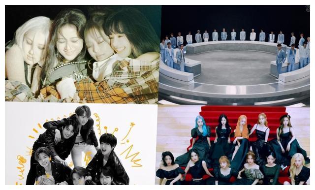 全球专辑榜:粉墨冠军NCT大势第二,本月少女成黑马靠拢BTS