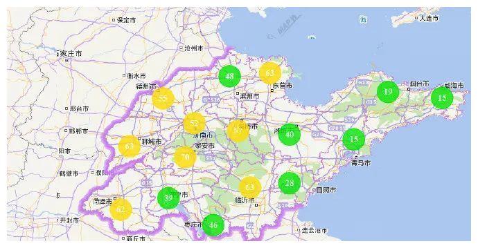 山东省环境空气质量形势预报