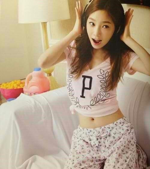 少女时代 金泰妍早期图集,好小只和可爱哦