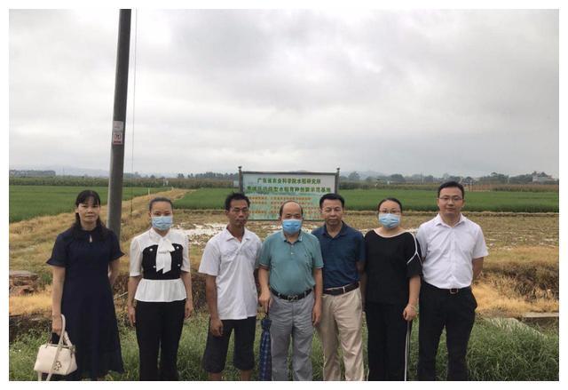 惠州市农业农村综合服务中心人员到汝湖进行学员跟踪指导