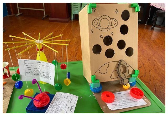 创意无限—江山路中心幼儿园开展玩教具展评活动