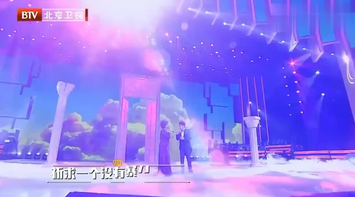 王祖蓝杜丽莎同台唱歌,高晓松评价王祖蓝:听到的最高水准的一次