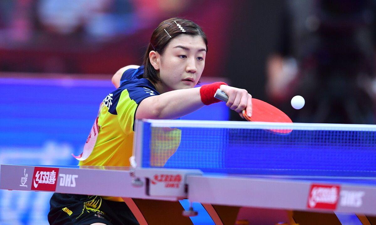全国乒乓球锦标赛,女单决赛:陈梦4-0孙颖莎