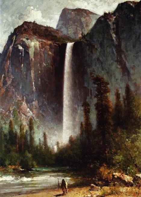哈德逊河画派画家托马斯·西尔作品欣赏