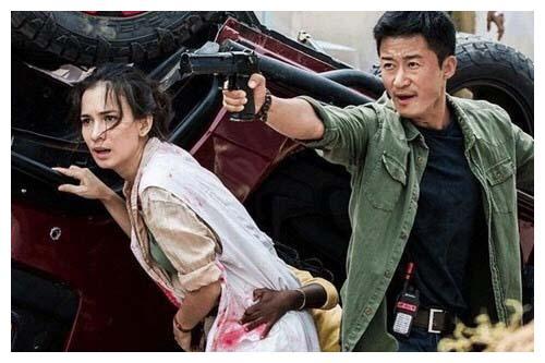 她是《战狼2》的原定女主角,姑且加价被吴京换掉,此刻令人意外
