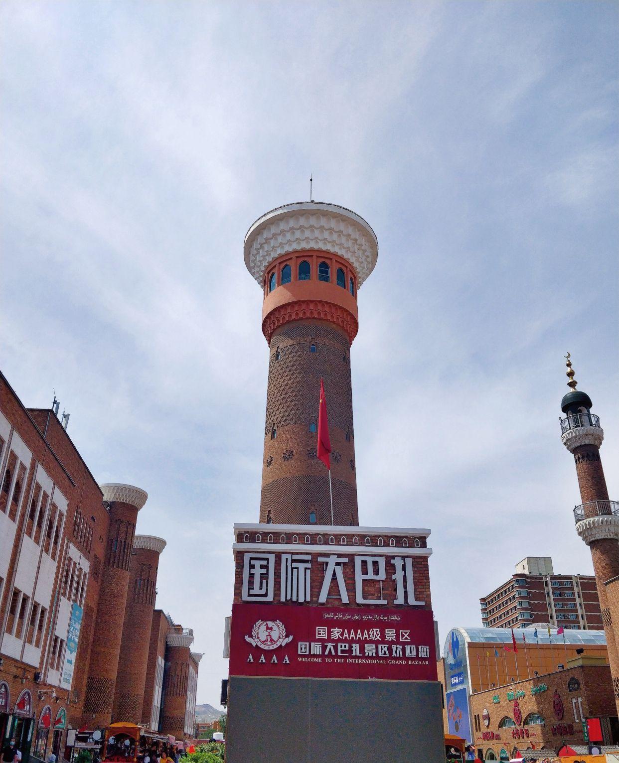 旅游新疆第一站,打卡大巴扎景区,逛街美食两不误